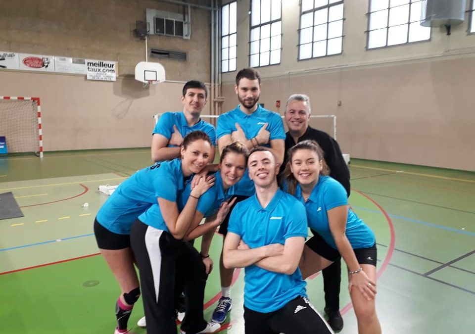 Nationale 3, Interclub J5 à Valence
